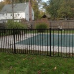 4-foot pool fence - Ovation style