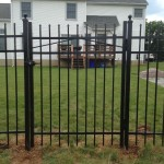 Black Jerith fence - Style 101